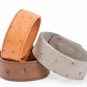 BANGLE STRAP OSTRICH LEATHER