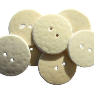 EGG SHELL BUTTONS ROUND