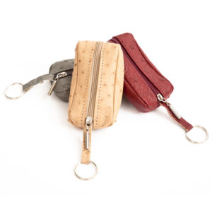 KEY RING POUCH WITH ZIP