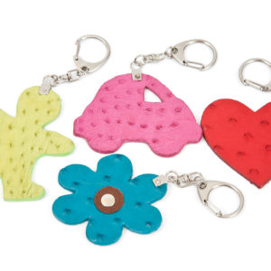 KEYRING AFRICA/HEART/CAR/MAN/FLOWER