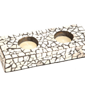 MOSAIC CANDLE HOLDER – SMALL X2