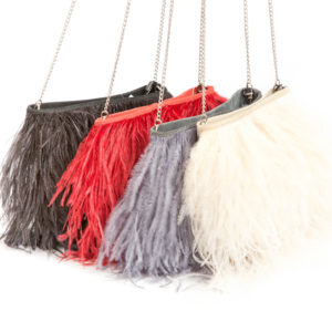 FANCY FEATHER BAG