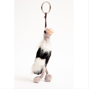 KEY RING SOFT TOY OSTRICH