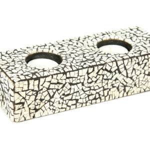 Mosaic Candle Holder – Hole X 2