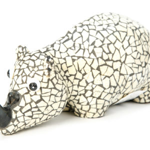 Mosaic Animal Rhino