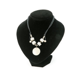 Necklace Ostrich Eggshell/00235-Chic